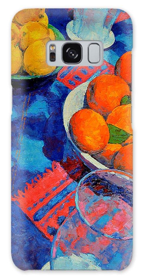 Still Life Galaxy S8 Case featuring the painting Still Life 2 by Iliyan Bozhanov