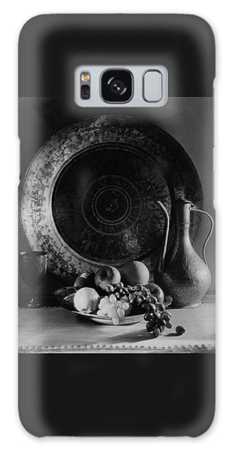 Decorative Art Galaxy S8 Case featuring the photograph Still Life Of Armenian Plate And Other by Joseph B. Wurtz