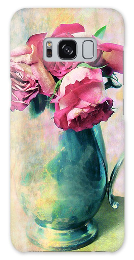 Flowers Galaxy S8 Case featuring the photograph Still Life Roses by Jessica Jenney