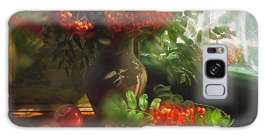 Still Life Galaxy S8 Case featuring the photograph Still Life With Rowan by Iryna Tuyakhova