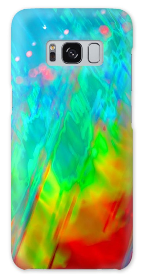 Abstract Galaxy S8 Case featuring the photograph Stir It Up by Dazzle Zazz