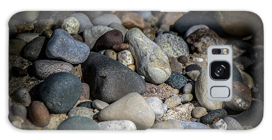Stones Galaxy S8 Case featuring the photograph Stones On Beach by Ronald Grogan