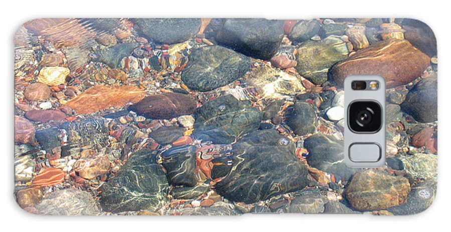 Stones Galaxy S8 Case featuring the photograph Stony Beauty by Ann Horn
