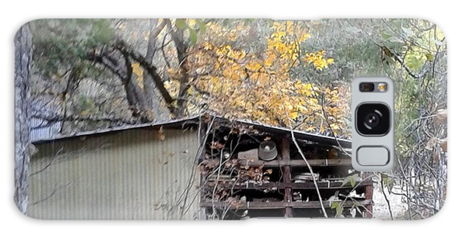 Shed Galaxy S8 Case featuring the photograph Storage Shed In Color by Marge Cari