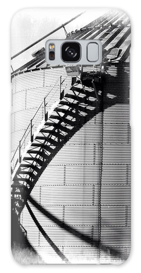 Storage Silo Galaxy S8 Case featuring the photograph Storage Silo by Brett Beaver