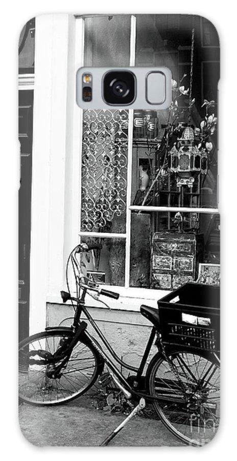 Store Bike Galaxy S8 Case featuring the photograph Store Bike by John Rizzuto