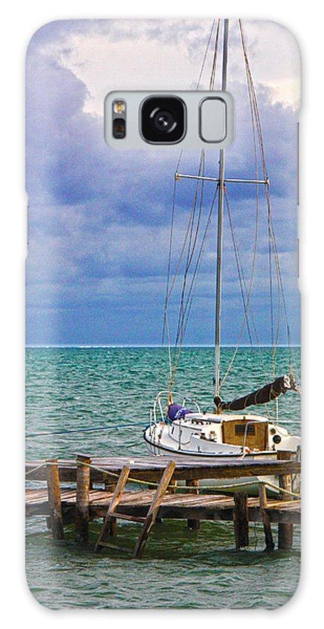 Caye Caulker Galaxy S8 Case featuring the photograph Storm Coming Caye Caulker Belize by Lee Vanderwalker