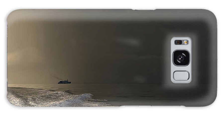 Maldives Galaxy S8 Case featuring the photograph Storm Coming. Maldives by Jenny Rainbow