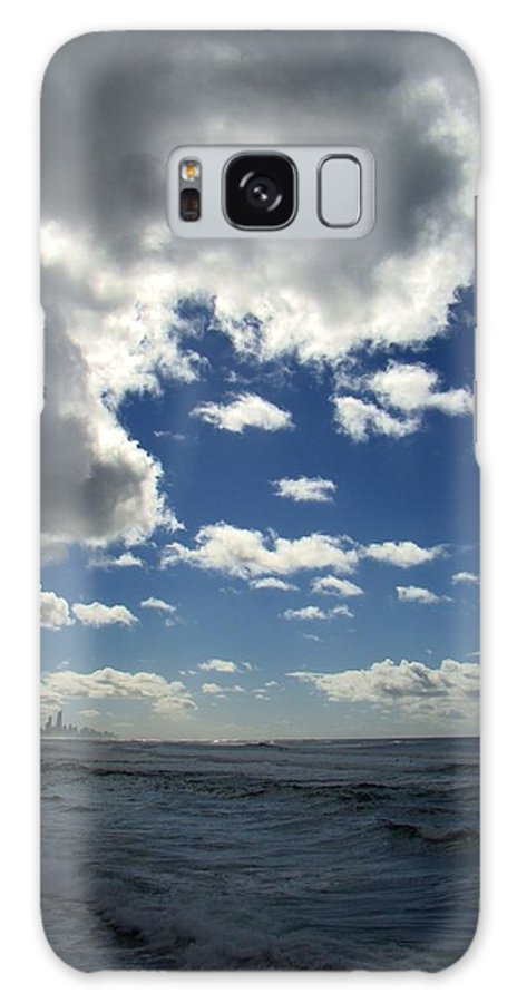 Nobody Galaxy S8 Case featuring the photograph Stormclouds At Burleigh by David and Mandy