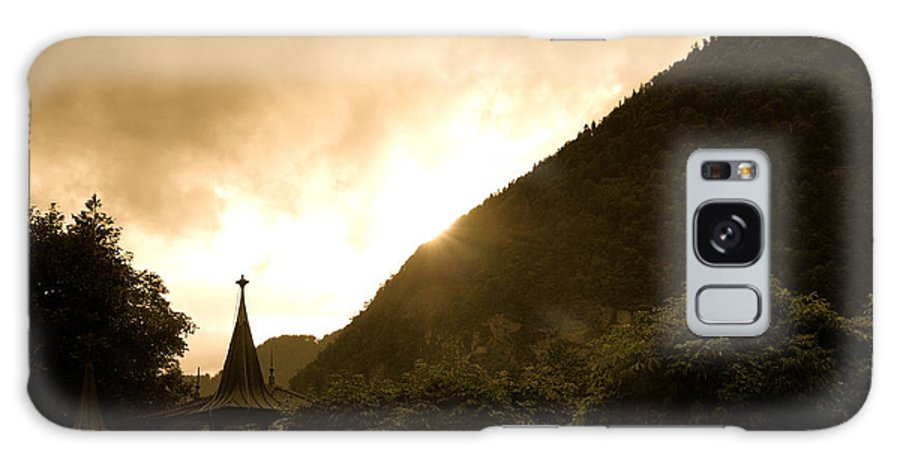 Galaxy S8 Case featuring the photograph Stormy Light Switzerland by Elizabeth-Anne King