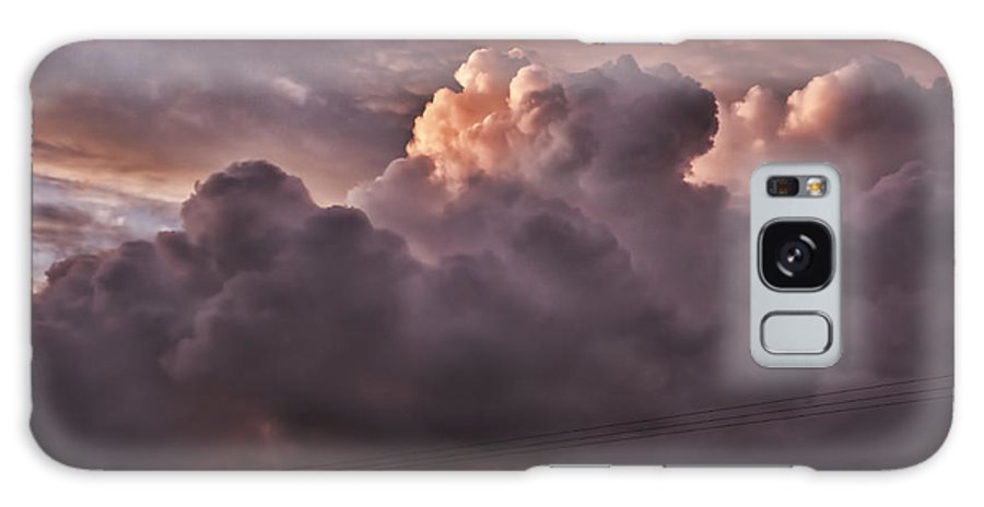Stormy Sunset Galaxy S8 Case featuring the photograph Stormy Sunset by Steve Purnell