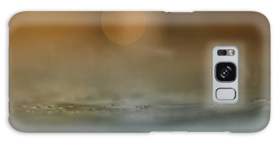 Abstract Galaxy S8 Case featuring the photograph Stormy Weather by Kent Mathiesen