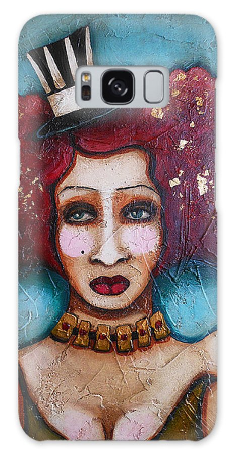 Dancer Galaxy S8 Case featuring the painting Storyville Stinks by Sherry Dooley
