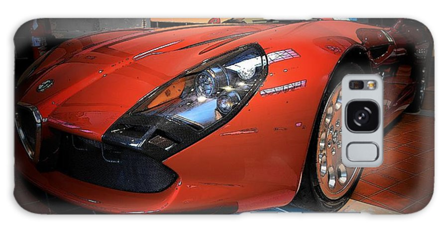 Automobiles Galaxy S8 Case featuring the photograph Stradale By Zagato by John Schneider