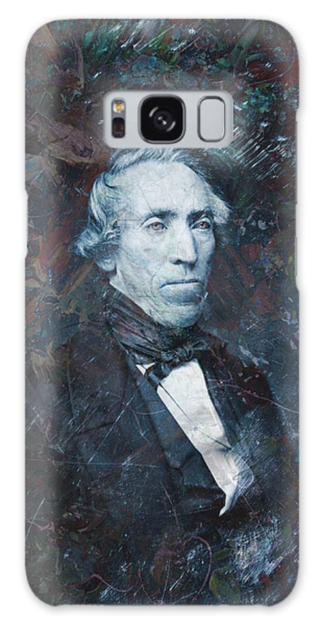 Daguerrotype Galaxy S8 Case featuring the painting Strange Fellow 1 by James W Johnson