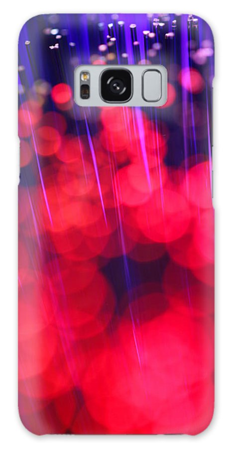 Abstract Galaxy S8 Case featuring the photograph Strawberry Fields by Dazzle Zazz