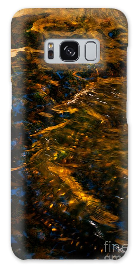 Abstract Galaxy S8 Case featuring the photograph Stream Of Reflection by Venetta Archer