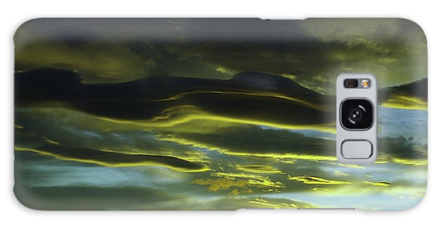 Clouds Galaxy S8 Case featuring the photograph Streaming Clouds by Jeff Swan