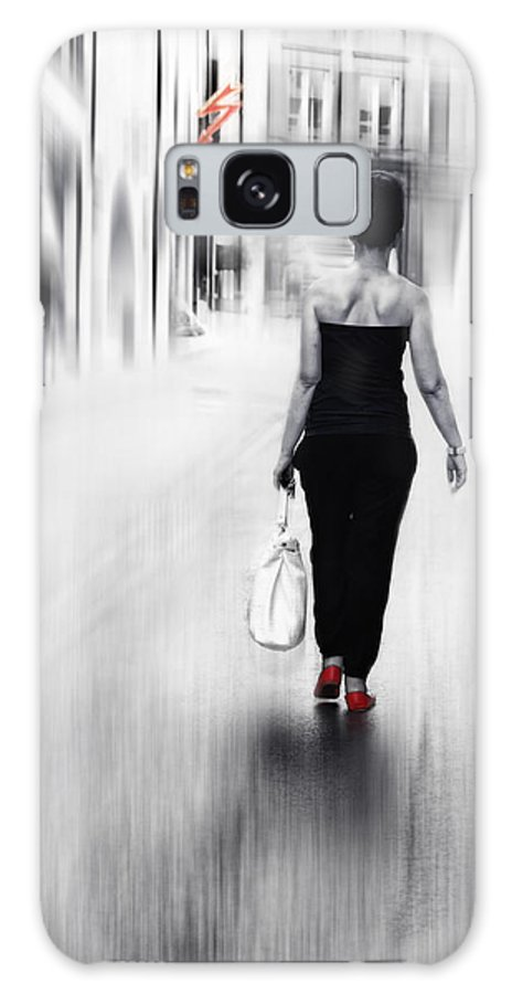 Woman Galaxy S8 Case featuring the photograph Street Lady by Claudia Moeckel