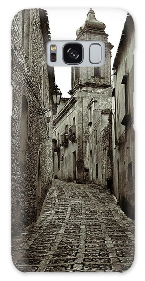 Erice Galaxy S8 Case featuring the photograph Street Of Erice by RicardMN Photography
