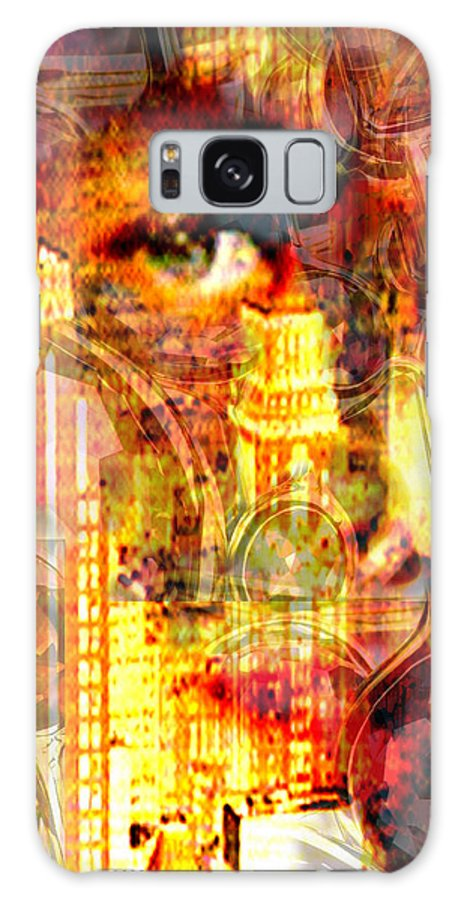 Big City Galaxy S8 Case featuring the photograph Streetwalker by Seth Weaver