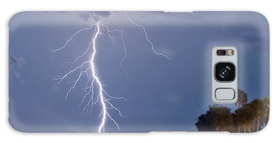 Florida Lightning Galaxy S8 Case featuring the photograph Striking by Stephen Whalen