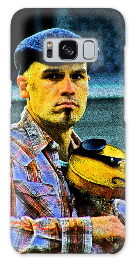 Violin Galaxy S8 Case featuring the photograph My String Instrument by Joseph Coulombe