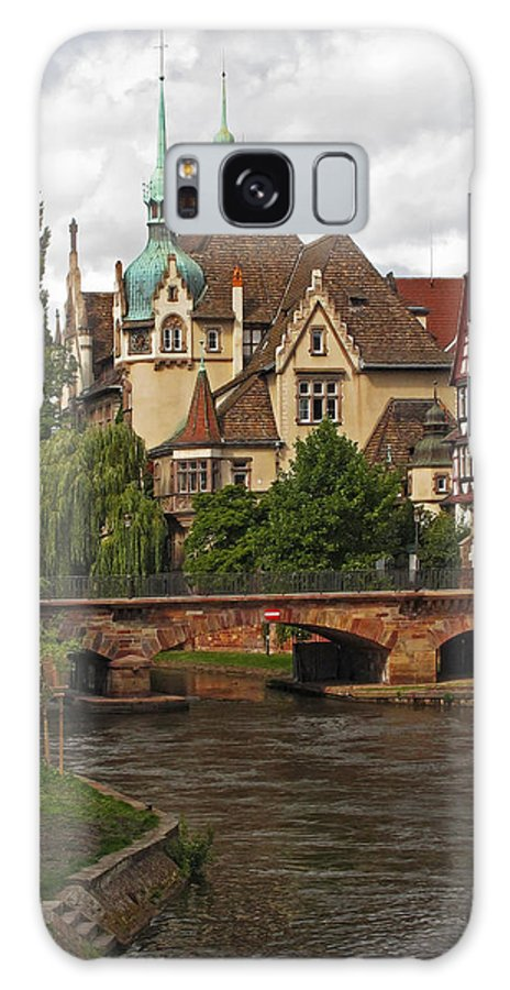 Strasbourg Galaxy S8 Case featuring the photograph Strolling Through Strasbourg by Dave Mills