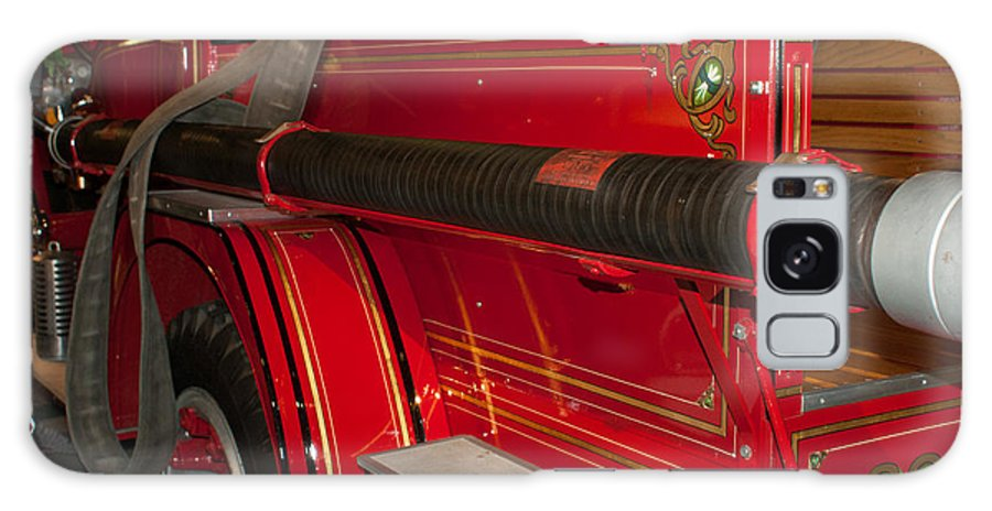 Studebaker Galaxy S8 Case featuring the photograph Studebaker Fire Truck by Craig Hosterman