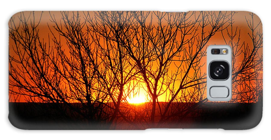 Sunset Galaxy S8 Case featuring the photograph Stunning Stone Park Sunset by Nicole Crabtree
