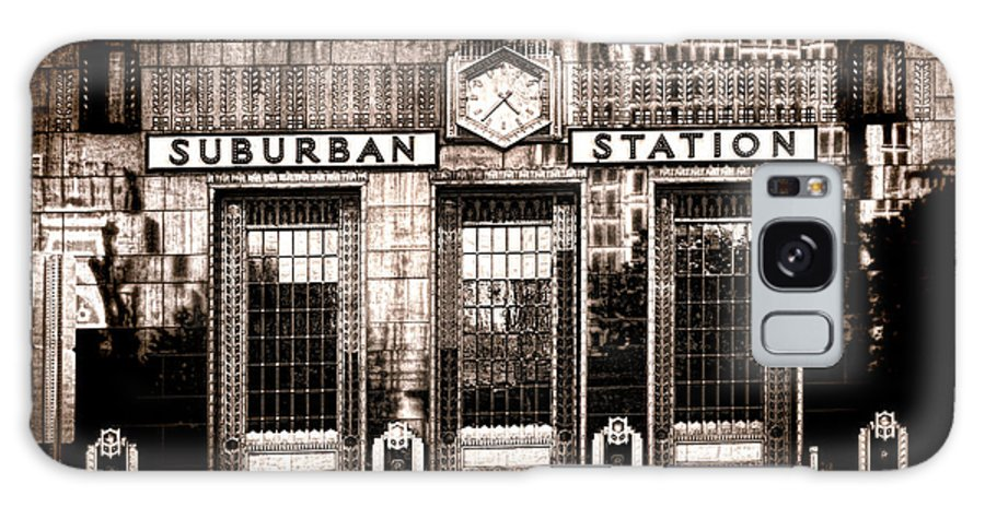 Philadelphia Galaxy S8 Case featuring the photograph Suburban Station by Olivier Le Queinec