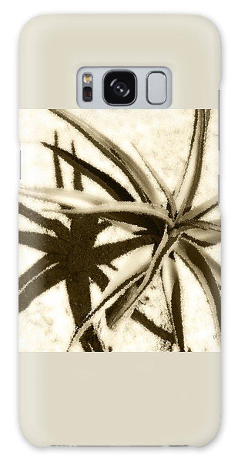 Botanical Galaxy S8 Case featuring the photograph Succulent Under The Scorching Desert Sun by Ben and Raisa Gertsberg