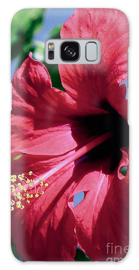 Landscape Galaxy S8 Case featuring the photograph Summer Bloom by Eleni Mac Synodinos