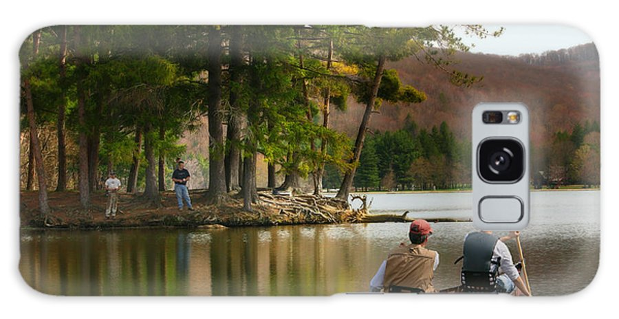 Canoe Galaxy S8 Case featuring the photograph Summer Fun by Cindy Haggerty