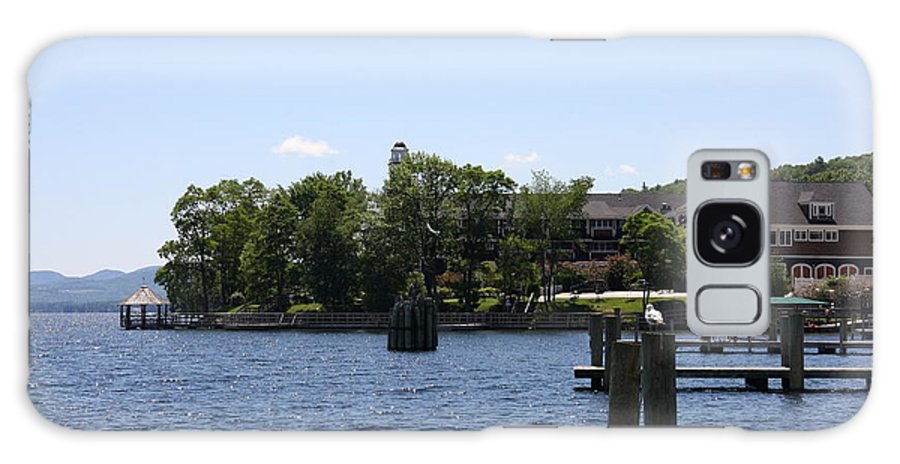 Jetty Galaxy S8 Case featuring the photograph Summer Impression Lake Winnipesaukee by Christiane Schulze Art And Photography
