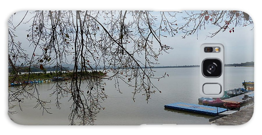 Lake In Summer Morning At Chandigarh Galaxy S8 Case featuring the photograph Summer Lake by Soumen Chattopadhyay