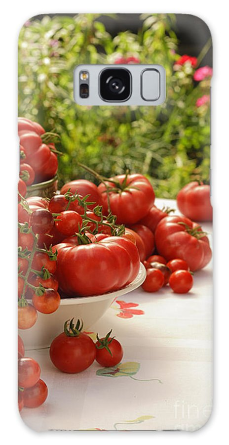 Garden Galaxy S8 Case featuring the photograph Summer Tomatoes by K Powers Photography