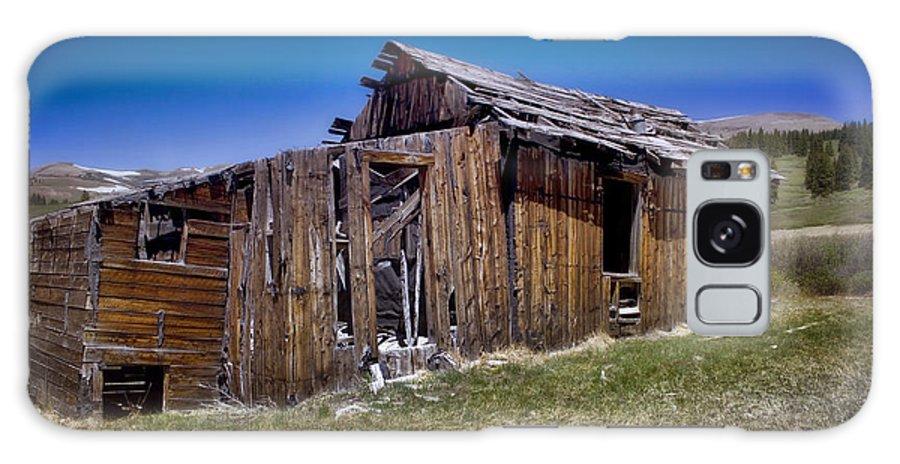 Summitville Galaxy S8 Case featuring the photograph Summitville - Colorado Ghost Town by Ellen Heaverlo
