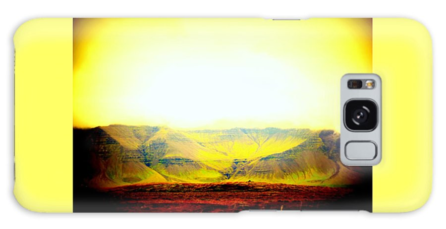 Sun Galaxy S8 Case featuring the photograph The Sun Also Rises And So Do The Mountains by Hilde Widerberg