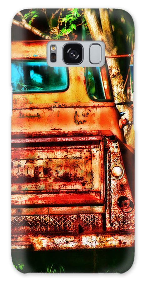 Truck Galaxy S8 Case featuring the photograph Sun Kissed Truck by Toni Hopper
