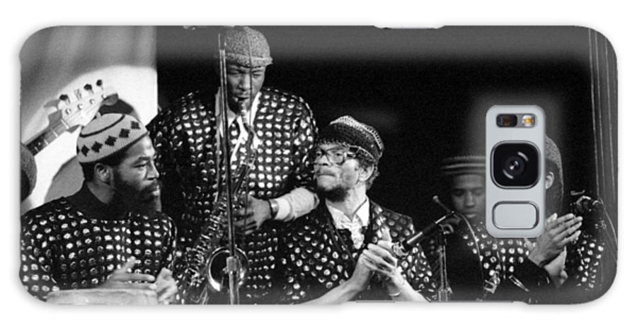 Jazz Galaxy S8 Case featuring the photograph Sun Ra Arkestra With John Gilmore by Lee Santa