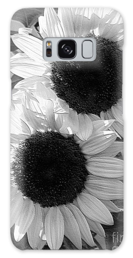 Mccombie Galaxy S8 Case featuring the digital art Sunflower From The Color Fashion Mix by J McCombie