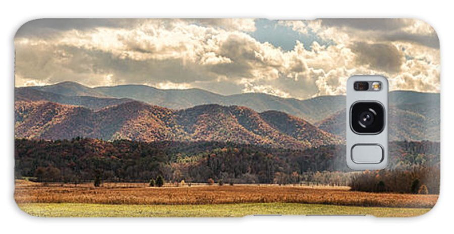 Cades Cove Galaxy S8 Case featuring the photograph Sunlight Rains Down by Heather Applegate