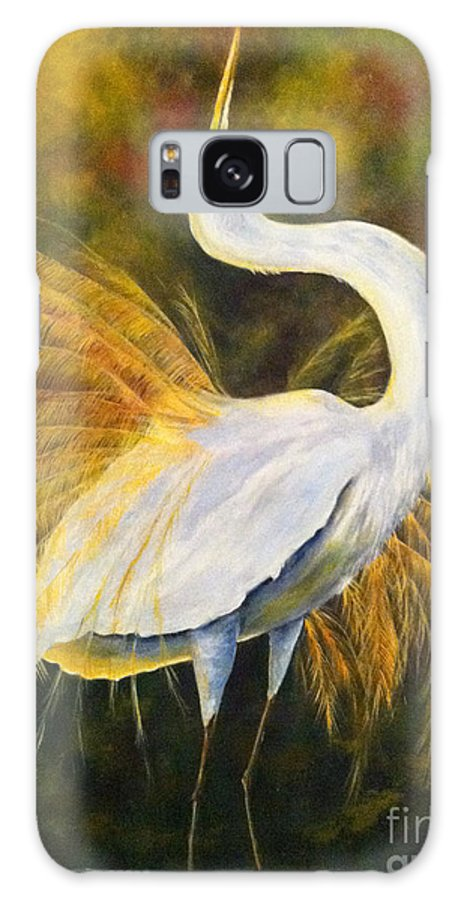 Wild Birds Galaxy S8 Case featuring the painting Sunrise by Barbara Janecka