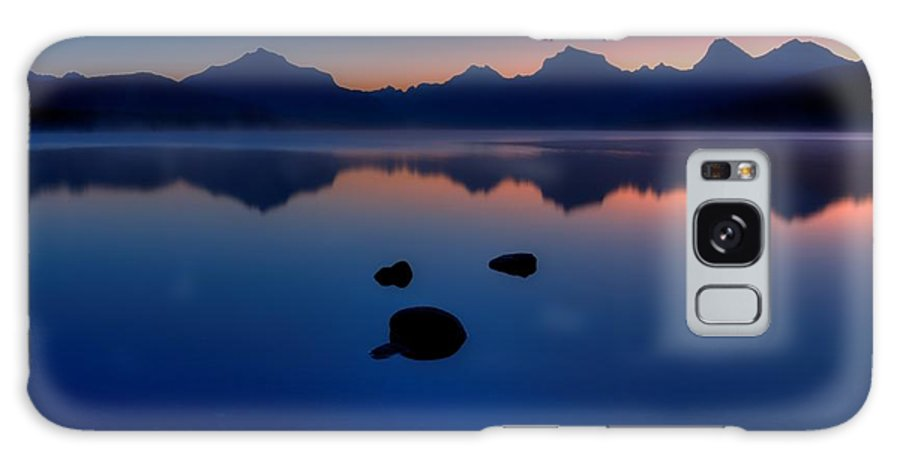 Glacier National Park Galaxy S8 Case featuring the photograph Sunrise Blues by James Anderson