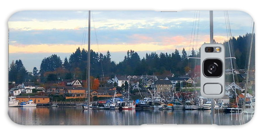 Water Galaxy S8 Case featuring the photograph Sunrise In Gig Harbor Wa by Tanya Searcy