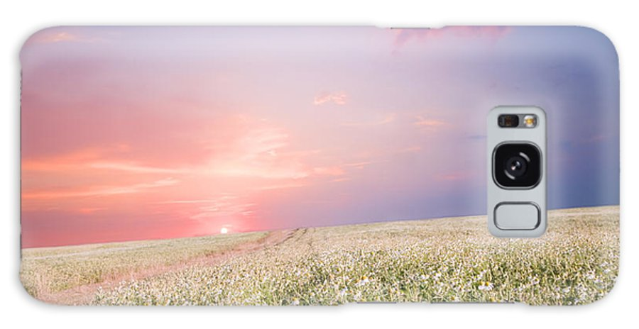 Sunrise Galaxy S8 Case featuring the photograph Sunrise Over Flower Land by Michal Bednarek