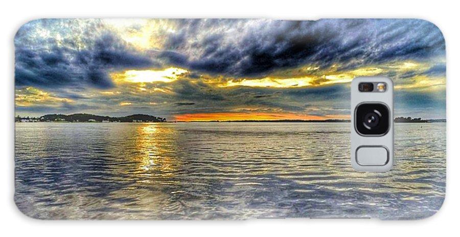 Lake Ontario Galaxy S8 Case featuring the photograph Sunset Over Lake Ontario by Erik Kaplan