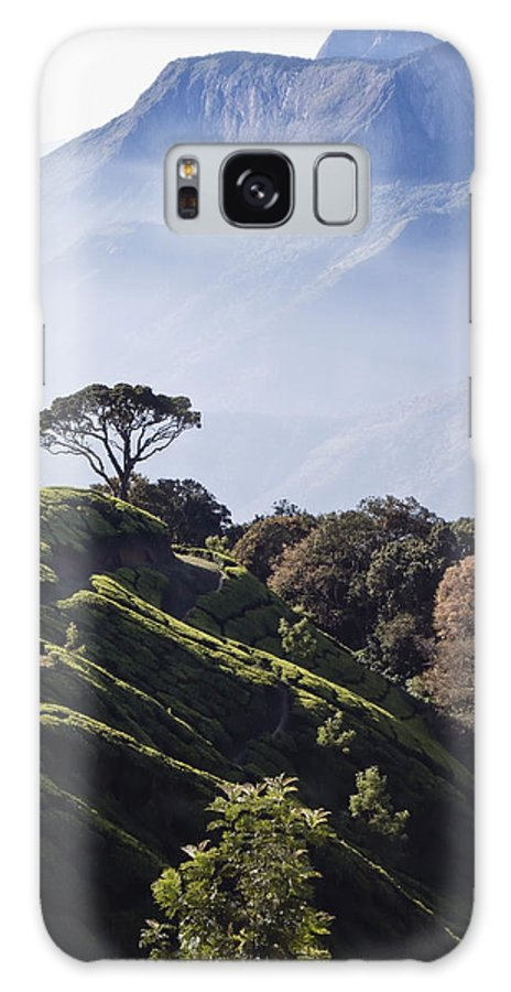 Beauty In Nature Galaxy S8 Case featuring the photograph Sunrise Over The Majestic Western Ghats by Heather Elton