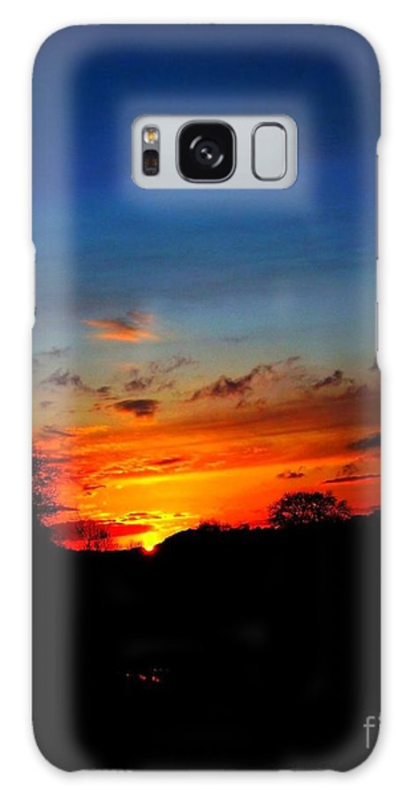 Sunset. Galaxy S8 Case featuring the photograph Sunset 1 by Beth Grant